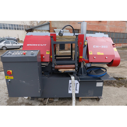 IRON-CUT CH-350 (g4235) Колонный полуавтоматический ленточнопильный станок IRON-CUT Полуавтоматические Ленточнопильные станки